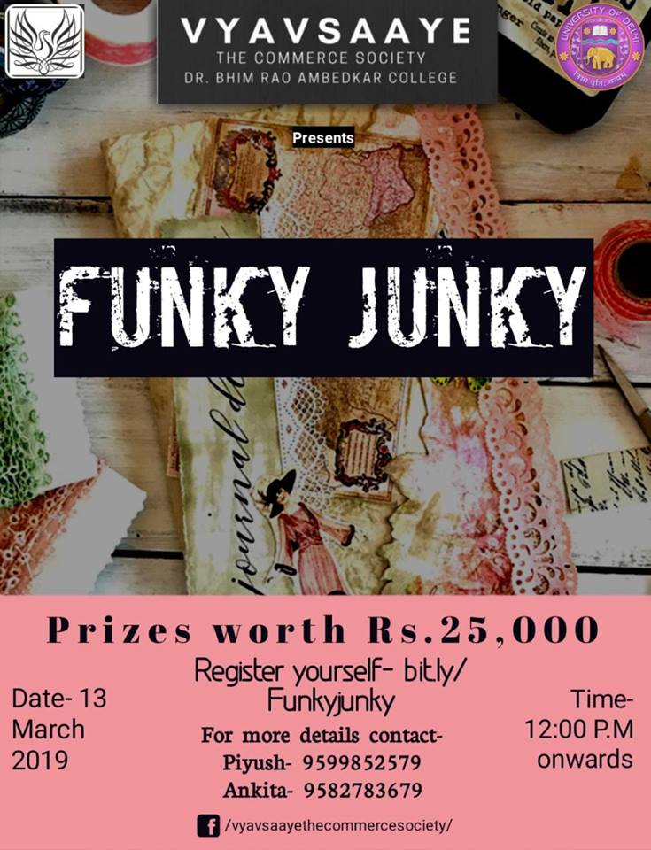 Funky Junky Competition at Commcoterie 2019 by Vyavsaaye