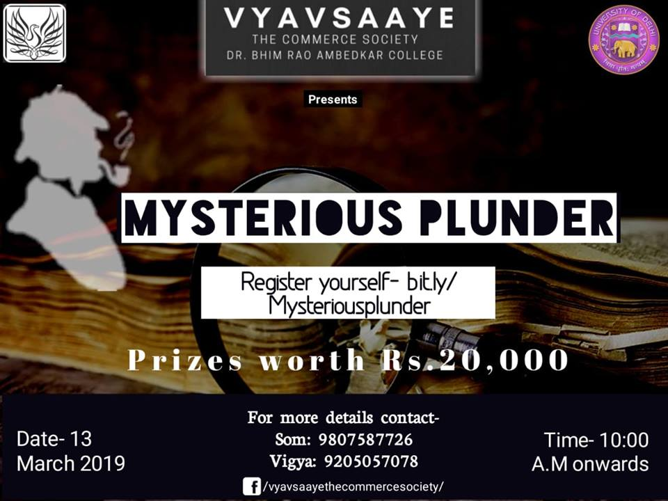 Detective Competition at Commcoterie 2019 by Vyavsaaye
