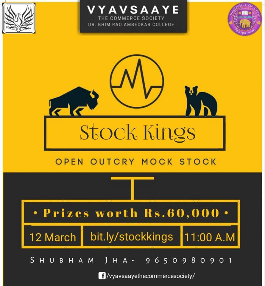 Stock Market Knowledge Competition at Commcoterie 2019 by Vyavsaaye