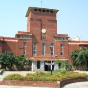 Delhi University Campus Main Building