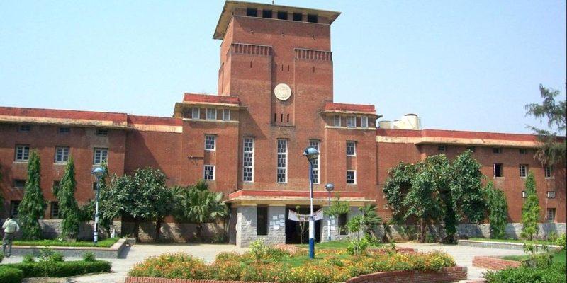 Delhi University Campus Main Building