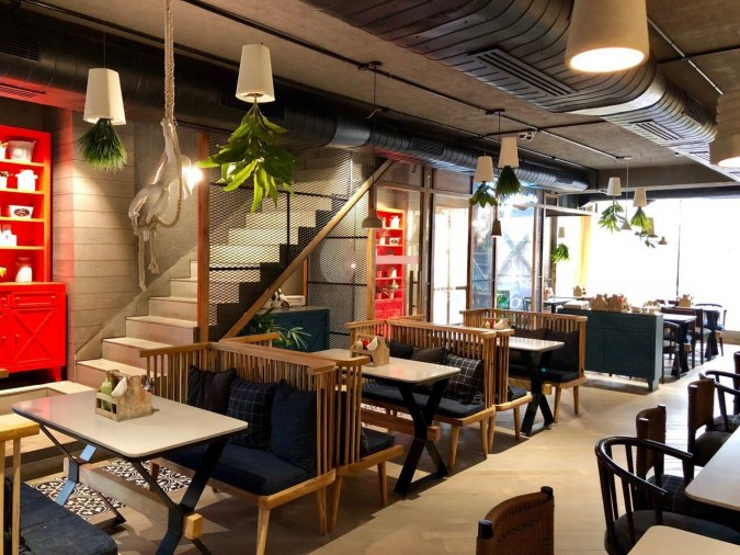 QD's Restaurant, Satya Niketan