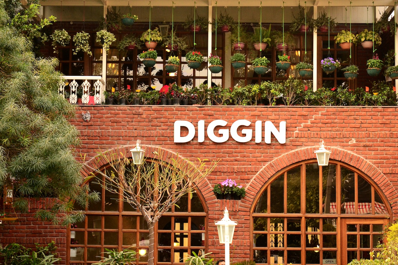 Diggin cafe, south campus