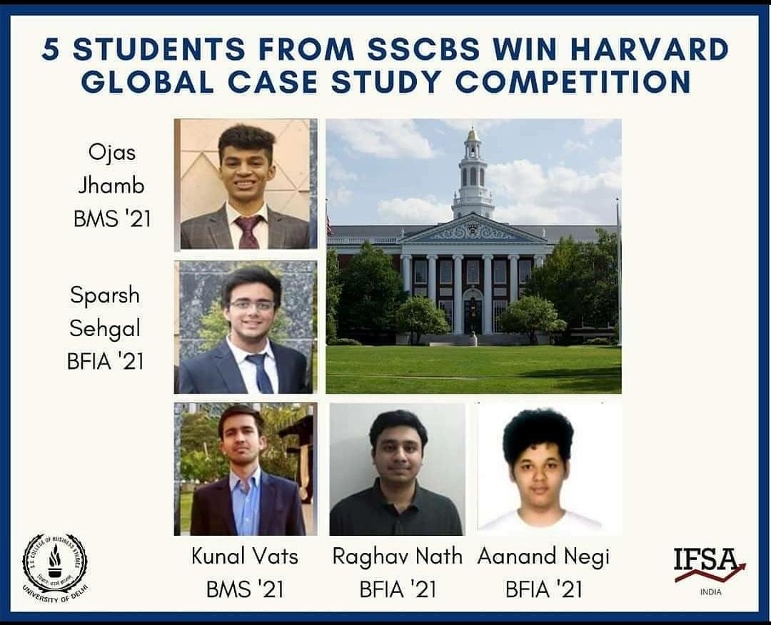 Global Competition Harvard 2020 WInner