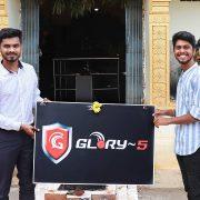 Glory-5 app founders